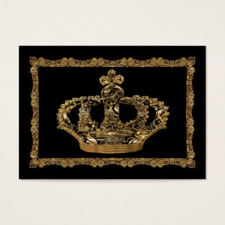Royalee Boleyn Crown Elegant Business Card