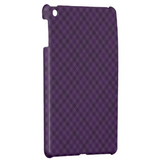 Royally Purple in Plaid iPad Mini Cases