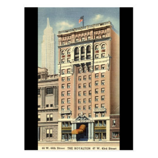 Royalton Hotel New York City Vintage Postcard