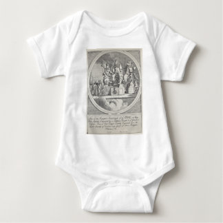 Royalty, Episcopacy and Law by William Hogarth Baby Bodysuit