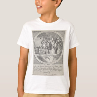 Royalty, Episcopacy and Law by William Hogarth T-Shirt