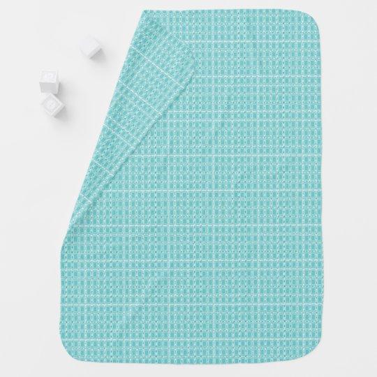 Royalty-Fabrics-Nursery_Aqua-Perfect_Blanket Baby Blanket