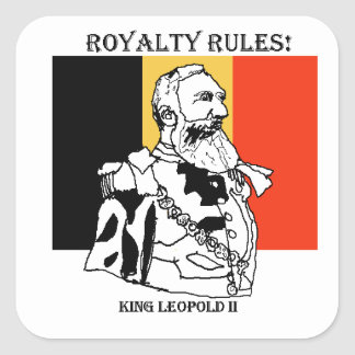 Royalty Rules King Leopold II - Glossy Stickers