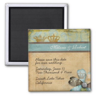 Royalty Save the Date Magnet
