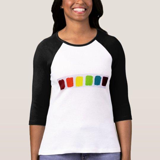 ROYGBIV square t-shirt