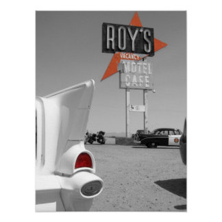 Roy's Motel and Cafe Poster