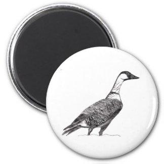 Roz 4 6 cm round magnet