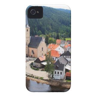 Rozmberk town iPhone 4 Case-Mate cases