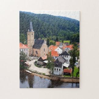 Rozmberk town jigsaw puzzle