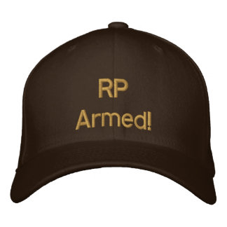 RP Armed! Ranch Defense cap, daytime casual wear Embroidered Baseball Cap