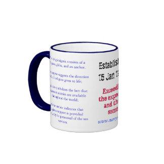 RP_BW_seal_copy, Established 15 Jan 1979, Relig... Ringer Mug