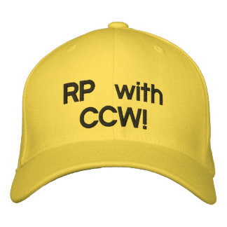 RP with CCW! Good Samaritan Cap Embroidered Baseball Caps