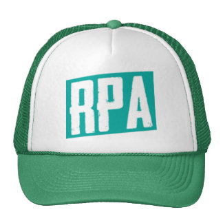 RPA™ Style Trucker Hat White And Green