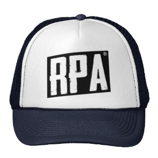 RPA™ Style Trucker Hat White And Navy
