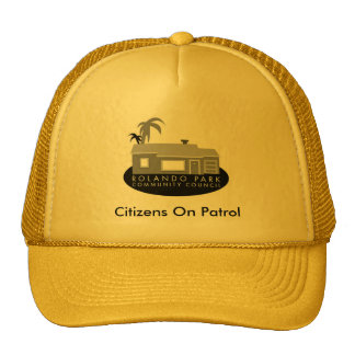 RPCC Citizens On Patrol - Hat