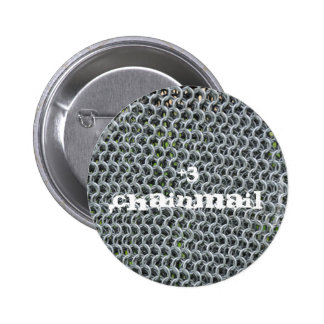 RPG Chainmail 6 Cm Round Badge
