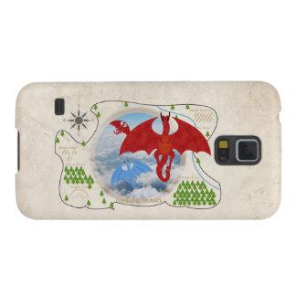 RPG Dragon Map Samsung Galaxy S5 Case