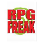 RPG Freak R Postcard