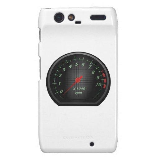 RPM Gauge Motorola Droid RAZR Cover