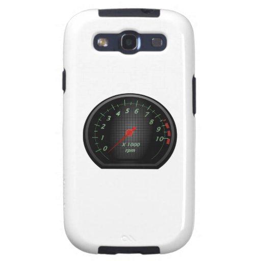 RPM Gauge Galaxy S3 Cases