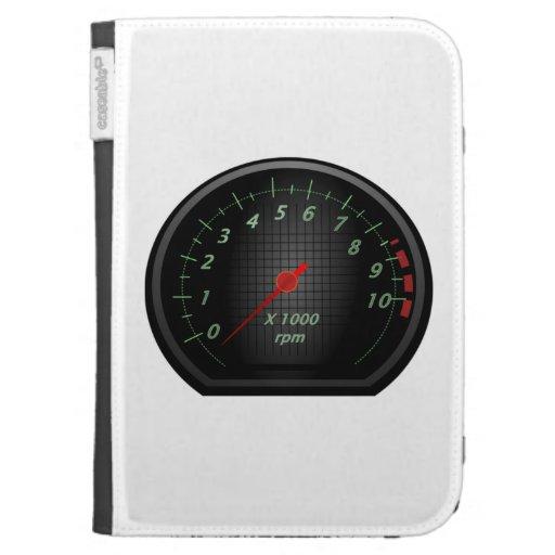 RPM Gauge Kindle 3G Cases