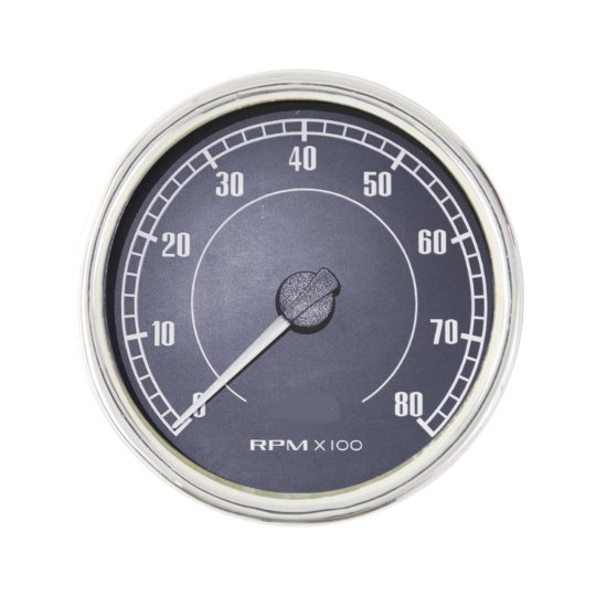 """""""RPM Gauge"""" design gifts and products Lapel Pin"""
