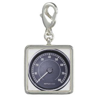 """RPM Gauge"" design jewelry set Charm"