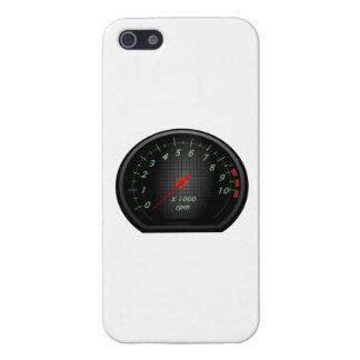 RPM Gauge iPhone 5 Cases