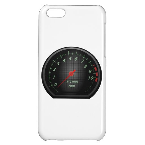 RPM Gauge iPhone 5C Cover