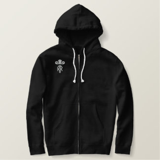 RR Fanwear Embroidered Zipped Hoodie
