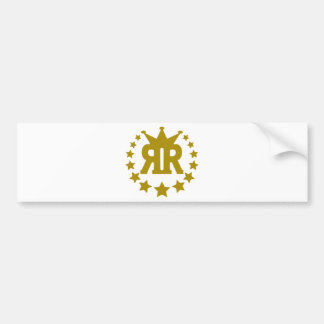 RR-real-stars-crown png Bumper Stickers