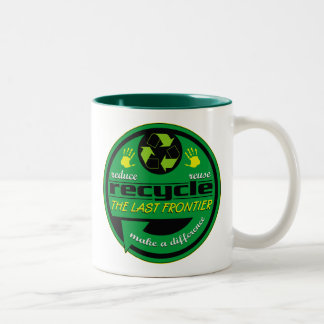 RRR The Last Frontier Two-Tone Mug