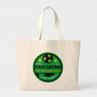 RRR The Old Line State Large Tote Bag