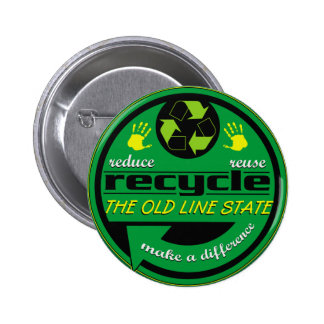 RRR The Old Line State Pinback Buttons