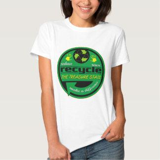 RRR The Treasure State T Shirts