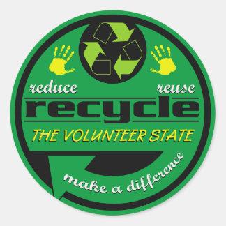 RRR The Volunteer State Classic Round Sticker