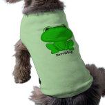 Rrrribbit! Green Froggie Pet Clothing