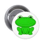 Rrrribbit! Green Froggie Pin