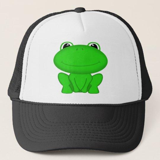 Rrrribbit! Green Froggie Trucker Hat