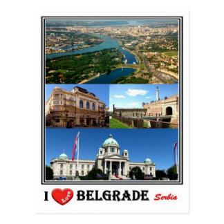 RS Serbia - Belgrade - Postcard