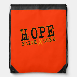 RSD awareness backpack Orange ribbon Leukemia/MS