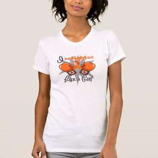 RSD Awareness I Fight Like a Girl With Gloves Tee Shirts