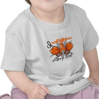 RSD Awareness I Fight Like a Girl With Gloves Tee Shirt