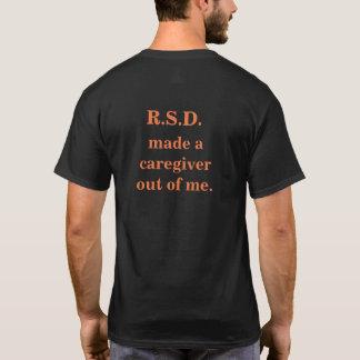 RSD Caregiver Spray Painted heart T-Shirt