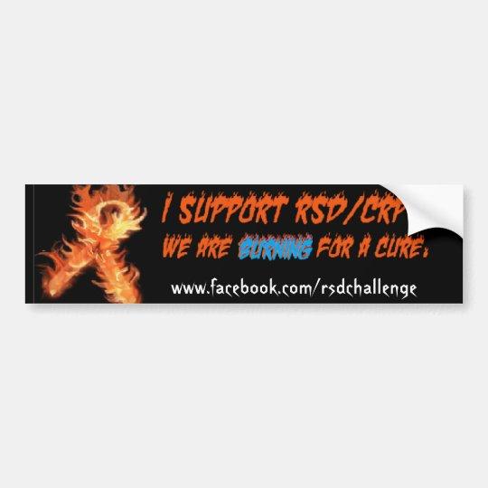 RSD/CRPS awareness bumper sticker