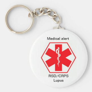 RSD Health Medical alert keychains (customizable)