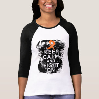 RSD Keep Calm and Fight On png Tee Shirt