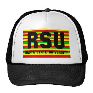 RSU: Rasta State University Mesh Hat