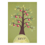 RSVP Apple Tree Watercolor Nature Wedding Cards