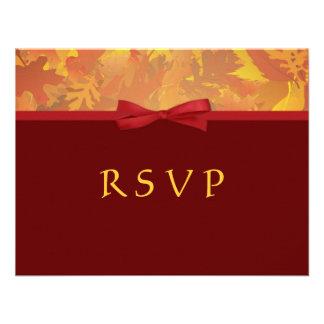 RSVP - Autumn Wedding Invitations